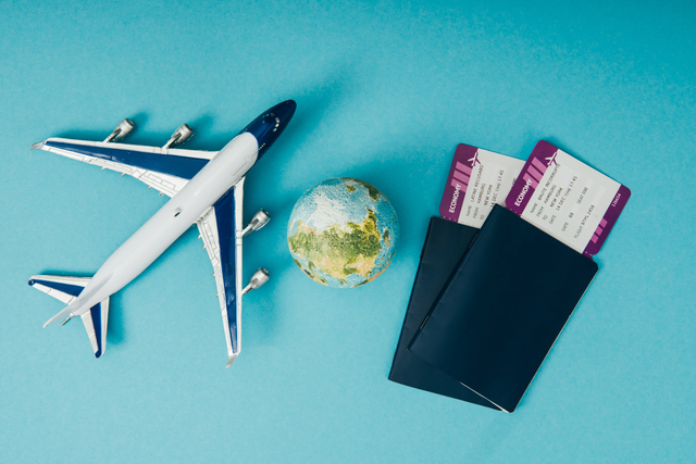 passports with tickets